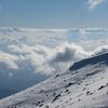 新雪の鳥海山にてⅡ