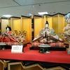 京雛の第一人者、大橋弌峰さんのひな人形作りを間近で見る。
