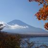 秋の富士山と、一抹の不安と