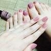 【ネイル】ぶどうカルピス色が可愛い!リンメル スピーディフィニッシュ814