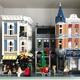 レゴ クリエイター「にぎやかな街角」をクリスマス仕様にしてみました