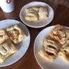 【おやつ作り】お砂糖をつかわないアップルパイ、とヨックモックの詰め合わせ。
