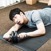 【朝活】腹筋ローラーと朝ランのコンボ