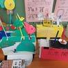 6年生:図工 くるくるクランク 完成・展示