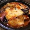 8月6日【昼のソト飲み(その一)】ビヤレストラン ミュンヘン、冷奴、若鶏の唐揚、茄子とエリンギのトマトチーズオーブン焼。