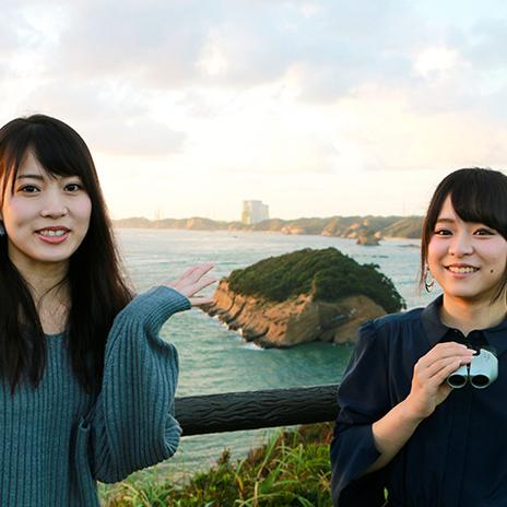 【読者プレゼント付き】AKB48 岡部麟さんと倉野尾成美さんの種子島アドベンチャー(前編) 「みちびき」が宇宙へ飛び立つ歴史的瞬間を…見ちゃった♥