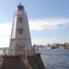 フォトジェニック!空と海と旧堺灯台