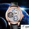 ジラール・ぺルゴのプラネタリウムの3軸陀はずみ車の腕時計