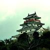 【写真複製・写真修復の専門店】唐津城の画像 お天気修正 佐賀
