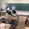 若松小学校児童会でのボランティア講話