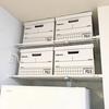 冷蔵庫上部デッドゾーンも工夫次第で有効な収納スペースに早変わり!