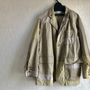 ENGINEERED GARMENTS Loiter Jacket - High Count Twill Khaki