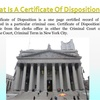 A Certificate Of Disposition Will Help You Learn The Truth