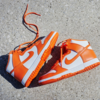 "【抽選は終了しました】""NIKE DUNK HIGH RETRO SYRACUSE 2021 (DD1399-101)"""