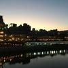 三条京阪付近の鴨川