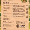 6月9日(日)《Mauiグッズ販売中》15時~22時(21時LO)