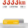 今週は65km走りました!