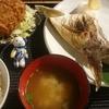 小田保でブリかま塩焼き