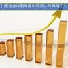 【7月度】配当金は前年度の同月より微増でした。