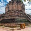 チェンマイの中心地にあるお寺 ワット・チェディルアン