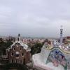 グエル公園でくつろぐ-3~バルセロナを一望~