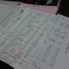 1ヶ月分の家計簿をつけ直しました。