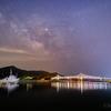 【天体撮影記 第93夜】 長崎県 生月島(いきつき)の生月大橋と天の川
