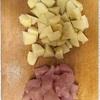 カレーチキンマヨポテト