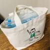 【セリア】フリーザーバッグで、赤ちゃん小物をかわいく整理!我が家のおでかけバッグ。