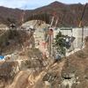 建設中の八ッ場ダムを見に行きました