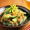 納豆の練りからし使わない勢は「きゅうりのからし漬け」で消費を。15分くらいで食べごろです【筋肉料理人】