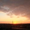 朝景色~その106『朝焼け雲と日の出』
