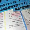 じっと我慢の日曜日…。勝田全国マラソンの思い出に浸る。