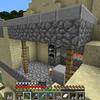 【マインクラフト#21】久々の砂漠村訪問と、見逃していた鍛冶屋。