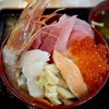 自転車で塩釜にマイ海鮮丼を食べに行ってきた。