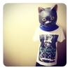ラッキーを呼び込む可愛いインテリアの作り方・ラバーマスク黒猫
