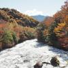 奥日光龍頭ノ滝の紅葉は見ごろを過ぎたか