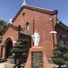 長崎カトリック黒崎教会 駐車場は裏手にあり