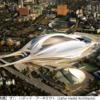 東京に宇宙船が舞い降りる――新国立競技場