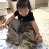 真似っこ娘(3歳6ヶ月)