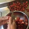 「ちろり」と雨の日の苺ソース