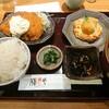 豆腐チキン南蛮膳