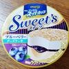 明治エッセルスーパーカップSweets  【ブルーベリーチーズケーキ】レビュー