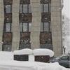 海外の建築写真みたいな建物が並ぶニセコで大興奮