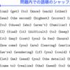 TeX で乱数を使う (4) ~ 2次元シャッフル
