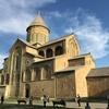 Mtskheta 'スヴェスティツホヴェリ大聖堂の近くのアイスクリーム屋さん'