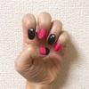 【爪】シンプルな黒とピンクから思うシンプルとは!?
