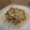 金目鯛のブレゼ、ソースマッシュルーム