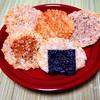 材料1つ。余りご飯で出来る玄米せんべいの作り方