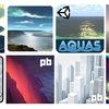 【Black Friday Sale】Vol.6 地形&空エフェクトまとめ「World Stream」「Real World Terrain」「AQUAS」「Enviro」「シティー&テラス」「Stylized Nature」